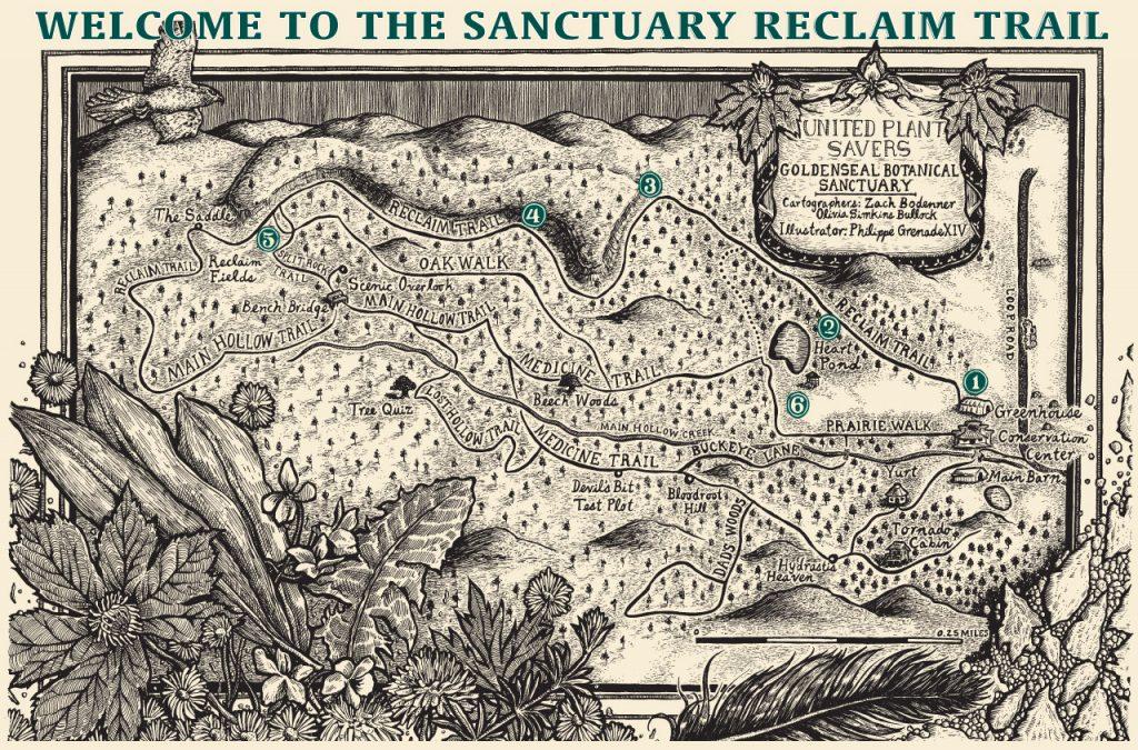 UpS-reclaim-trail-map