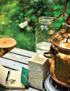distillation-lemonbalm