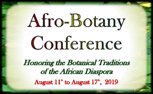 3rd Annual Afro-Botany Conference