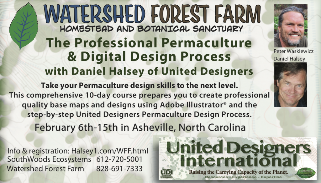 Watershed Forest Farm: Permaculture and Digital Design Workshop