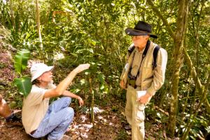 Ethnobotanists Rafael Ocampo and Luis POveda