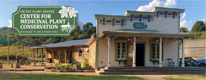 UpS center for medicinal plant conservation banner