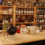 inside apothecary