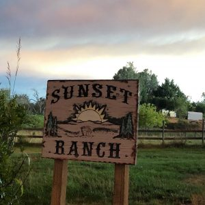 Sunset Ranch Sign